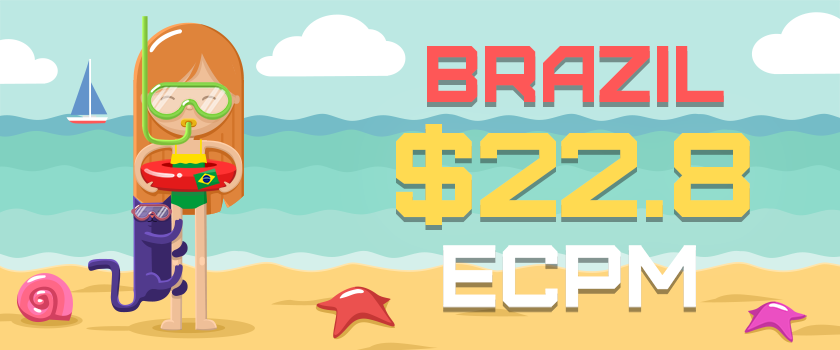 This week's top GEOs: Brazil